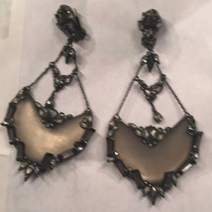 Alexis Bittar earrings (clips) new
